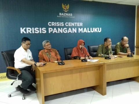 BAZNAS Bangun Crisis Center Bantu Krisis Maluku