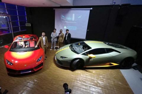 Lamborghini Huracan Spyder dan Avio 'Mendarat' di Indonesia