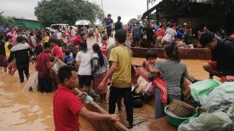 PLTA Jebol, 131 Warga Laos Masih Dilaporkan Hilang