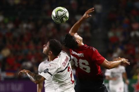 Lewat Adu Penalti, MU Sudahi Perlawanan Milan