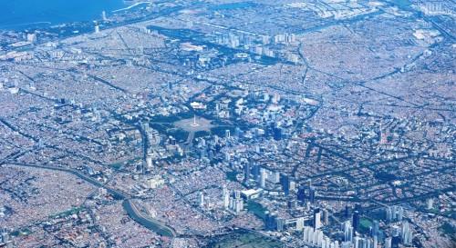 Hamparan perumahan baru di Jakarta Utara. MI/Agung Wibowo