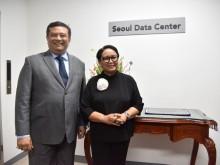 Indonesian FM Inaugurates Seoul Data Center