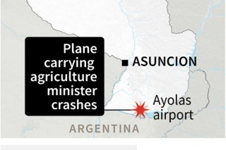 Menteri Pertanian Paraguay Tewas dalam Kecelakaan Pesawat