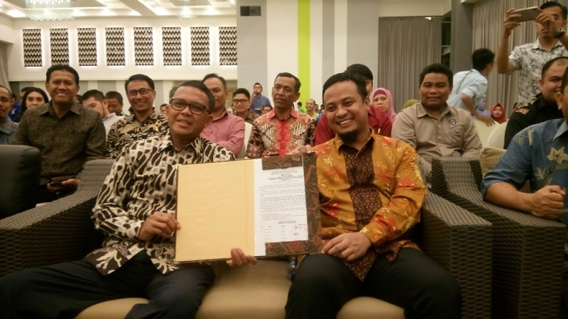 Nurdin Abdullah-Andi Sudirman Sulaiman sebagai gubernur dan wakil gubernur Sulsel terpilih