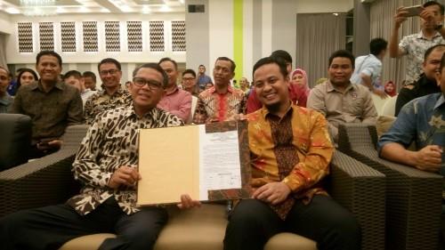 Nurdin Abdullah-Andi Sudirman Sulaiman sebagai gubernur dan