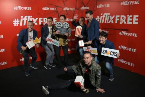 Iflix 3.0 Buka Akses Gratis untuk Konsumen