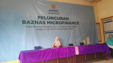 BAZNAS Microfinance Desa Diresmikan di Bogor