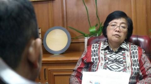 Menhut Tegaskan Isu Udara Jakarta Buruk Tidak Benar