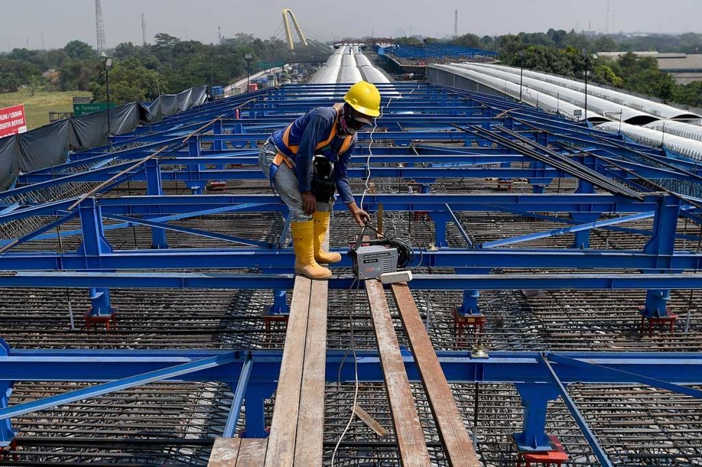 Progres Pembangunan Tol Layang Japek II Capai 40 Persen
