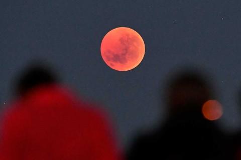 Gerhana Bulan Juga Bisa Dilihat di Beberapa Negara