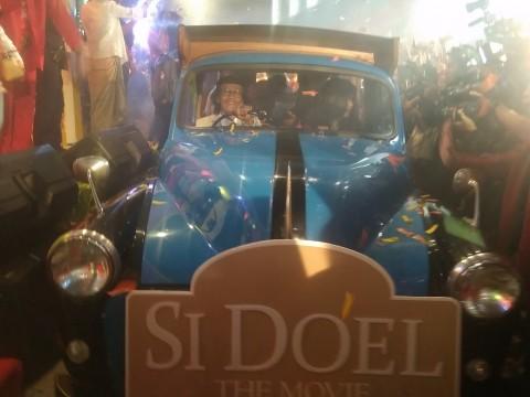 Perayaan Budaya Betawi dalam Gala Premier Si Doel The Movie
