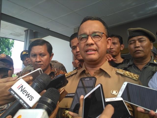 Gubernur DKI Jakarta Anies Baswedan. Medcom.id/ Nur Azizah