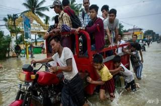 Lima Orang Tewas dalam Banjir di Myanmar