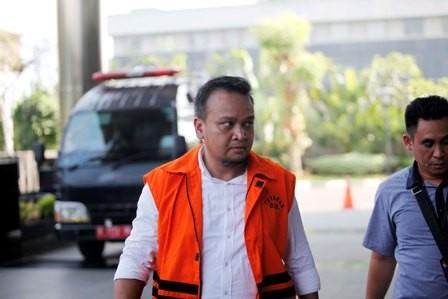 Mantan Direktur PT Murakabi Sejahtera yang juga keponakan mantan Ketua DPR Setya Novanto, Irvanto Hendra Pambudi. Foto: MI/Rommy Pujianto