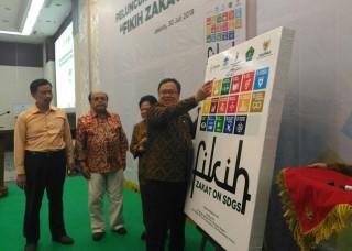 Buku Fikih Zakat untuk Pembangunan Berkelanjutan Diluncurkan