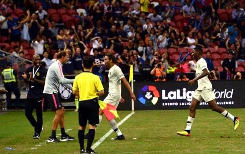PSG Akhiri ICC dengan Kemenangan Dramatis atas Atletico