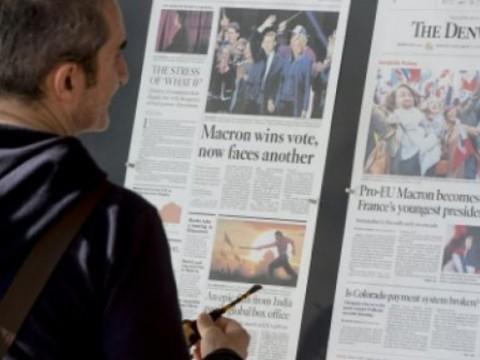 Karyawan Surat Kabar AS Semakin Melorot