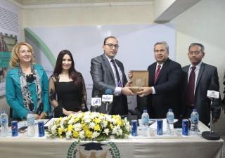Dubes RI Raih Penghargaan Pendidikan dan Budaya Mesir