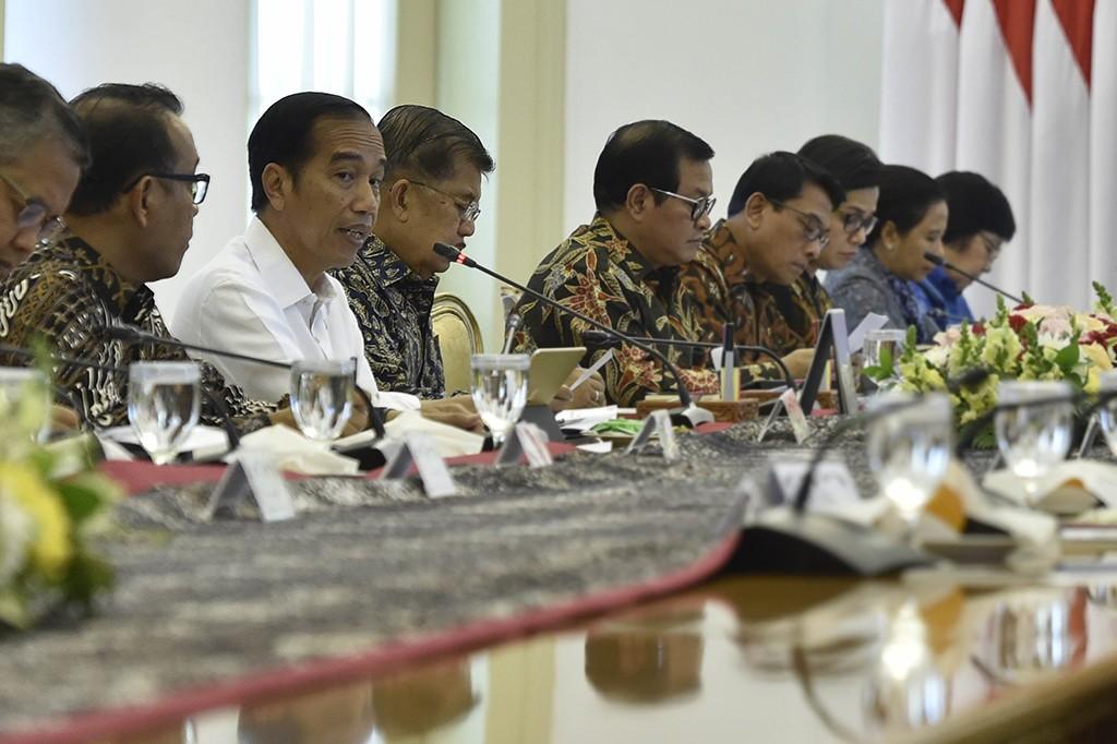 Jokowi Pimpin Ratas Soal Cadangan Devisa