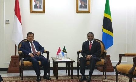 Kalla dan Presiden Zanzibar Bahas Peningkatan Kerja Sama