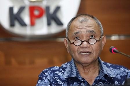 Ketua KPK Agus Rahardjo. Foto: MI/Rommy.