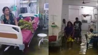 Kebanjiran, Rumah Sakit di India Dipenuhi Ikan