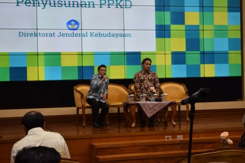 Loka Karya Penyusunan PPKD, di Kantor Kemendikbud, Jakarta,