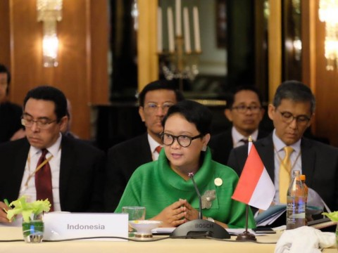 Indonesia Sampaikan Perspektif Konsep Indo-Pasifik kepada ASEAN