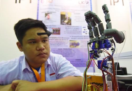 Pameran Indonesia Science Expo, ANT/Akbar Nugroho Gumay.