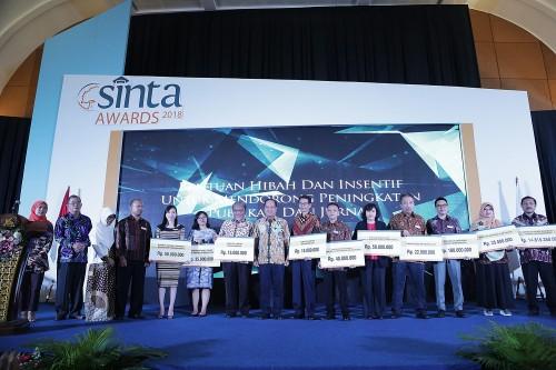Telkom University Raih Peringkat 1 di Sinta Awards 2018, Humas