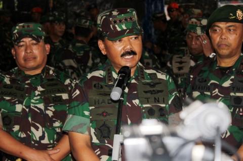 Mutasi 38 Perwira TNI Dikritisi