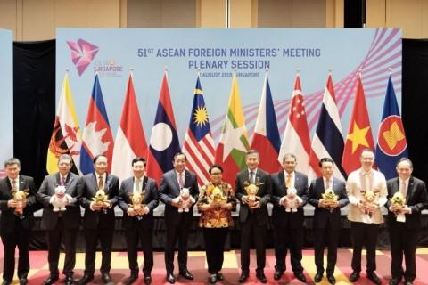 Pertemuan Menlu ASEAN Jadi Ajang Promosi Asian Games 2018
