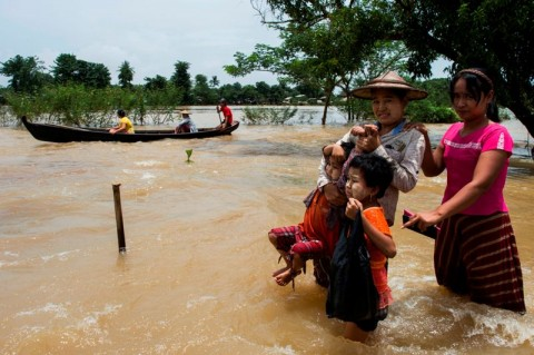 Kekhawatiran Banjir Bandang, 130 Ribu Warga Myanmar Diungsikan
