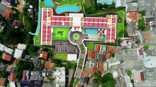 Sekitar 40% lahannya akan dijanjikan sebagai fasilitas umum.