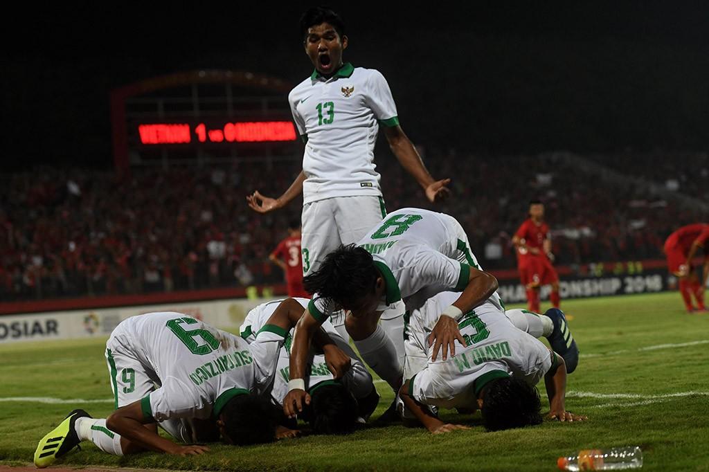 Timnas Indonesia U-16 Tekuk Vietnam 4-2