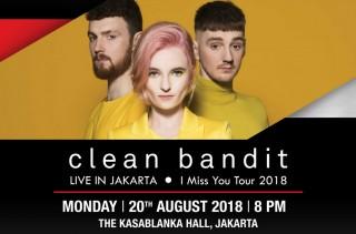 Jelang Konser Clean Bandit di Jakarta, Simak Rekomendasi Lagu-lagunya