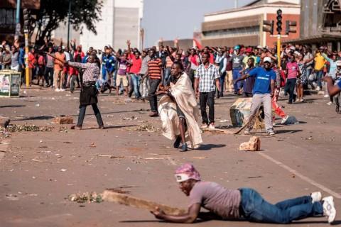 Kerusuhan Zimbabwe, KBRI Minta WNI Waspada