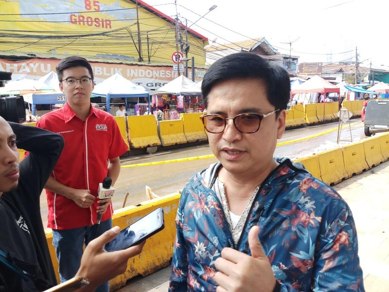 Direktur Utama PD Pembangunan Sarana Jaya Yoory Pinontoan/Medcom.id/Adin