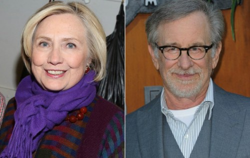 Hillary Clinton - Steven Spielberg (Foto: gettyimages)
