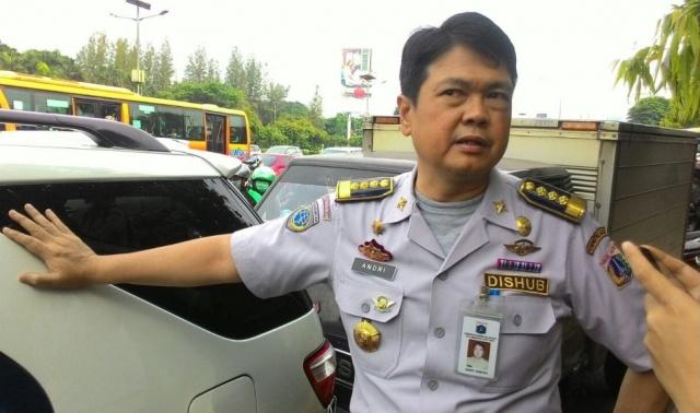 Kepala Dinas Perhubungan DKI Jakarta Andri Yansyah - Medcom.id/Nur Azizah.