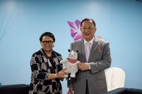 Menlu Retno kembali Undang Korut ke Pembukaan Asian Games