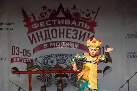 Festival Indonesia di Moskow Resmi Dibuka
