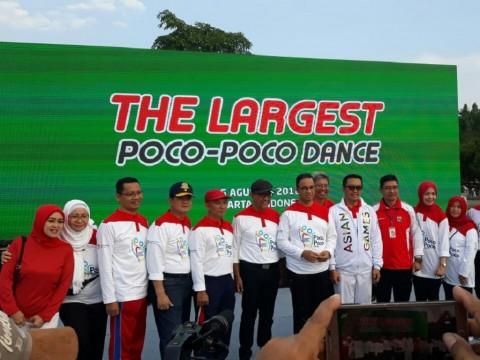 Rekor Dunia Senam Poco-Poco Massal