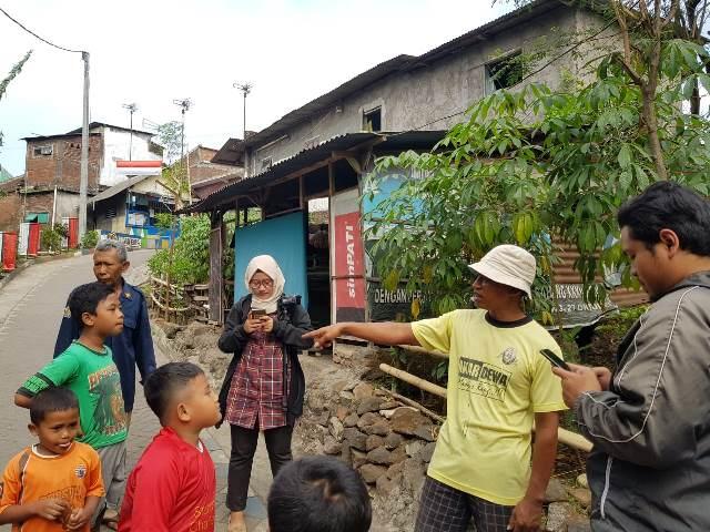 Perkiraan lokasi penangkapan terduga teroris di Kecamatan Lawang, Kabupaten Malang, Jawa Timur, Sabtu, 4 Agustus 2018. Medcom.id/ Daviq Umar Al Faruq.