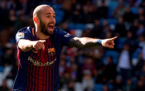 Barcelona Pulangkan Aleix Vidal ke Sevilla
