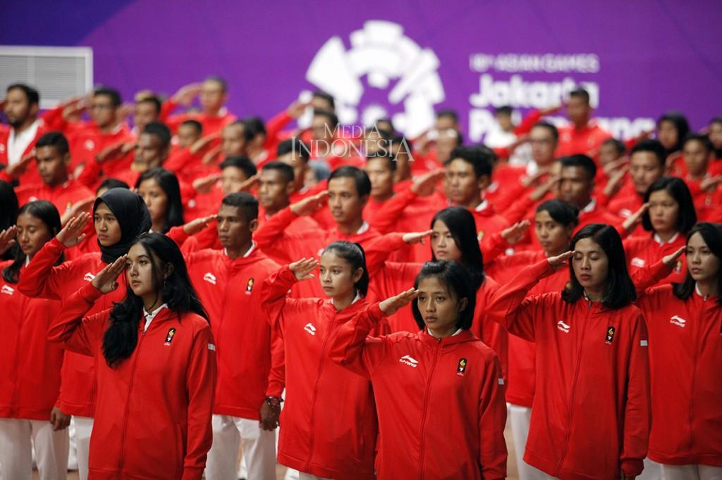 Kontingen Indonesia di Asian Games Resmi Dikukuhkan