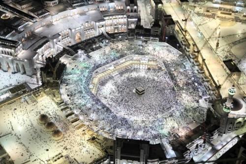 ILUSTRASI: Madjidil Haram, Mekah, Arab Saudi dipadati jemaah