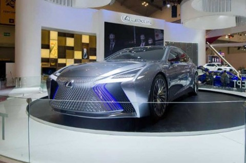LS+ Concept, jadi <i>Show Stopper</i> Lexus di ICE