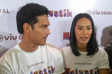 Richard Kyle dan Tara Basro (Foto: Medcom.id/Purba Wirastama)