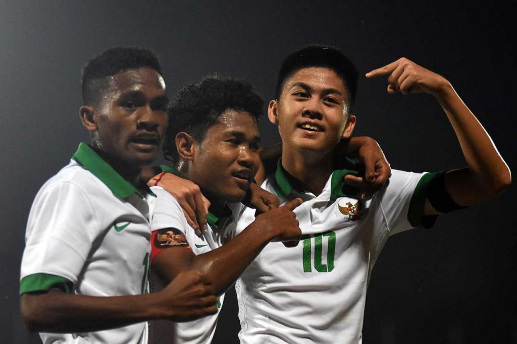 Timnas U-16 Indonesia Bungkam Kamboja 4-0